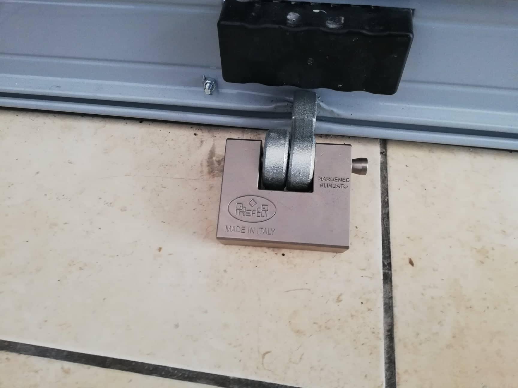 Χωνευτή κλειδαριά ασφαλείας
